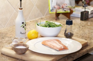 salmon in foil- ingredients