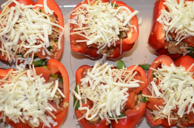 pre bake peppers