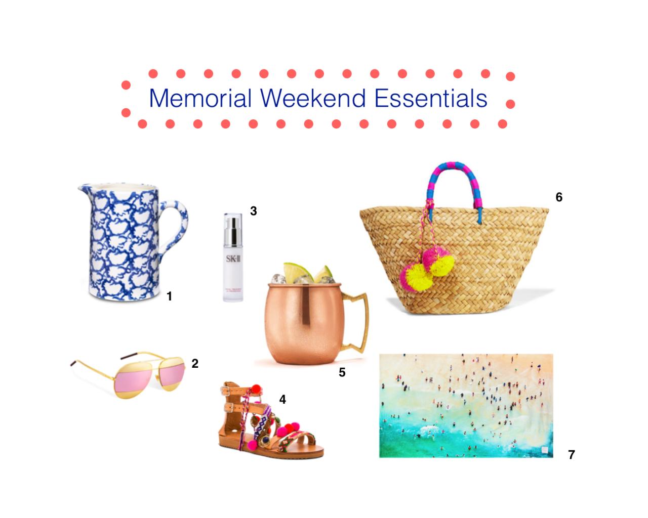 memorial weekend essentials