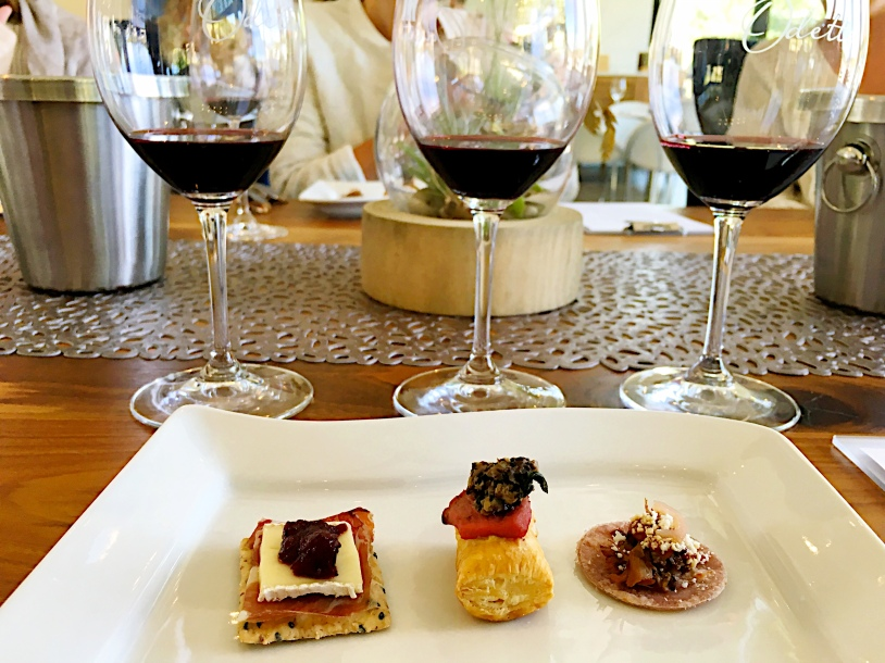 odette wine pairing