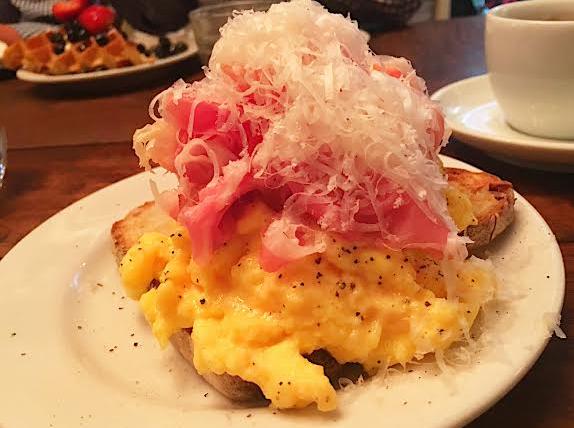 Prosciutto and Eggs